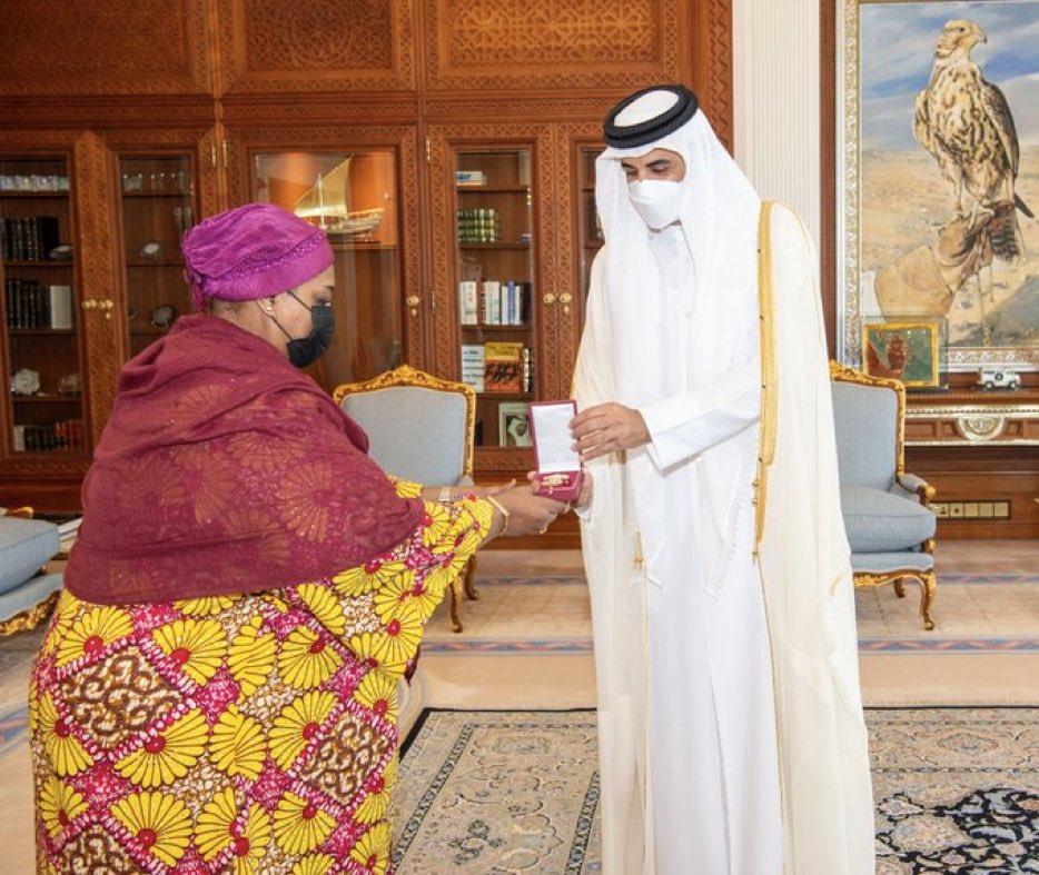 سمو الأمير يستقبل سفيرة تنزانيا